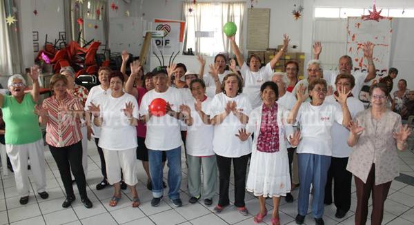 Grupos preparan su participación en el Día Deportivo del Adulto Mayor