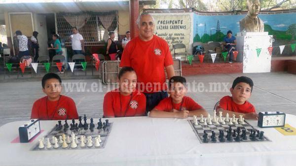 Equipo Zamorano de Ajedrez ganó pase a Nacional Sub 12