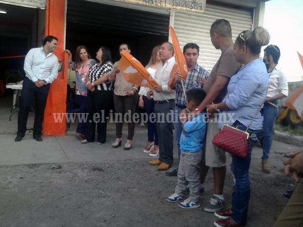 Cuestiona MC labor de alcaldía en Sahuayo
