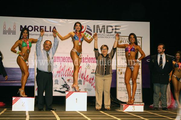 Se realizó con éxito el Campeonato Nacional de Fitness Atlético Infantil