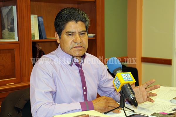 Lamentó Alcalde de Jacona el atraso en la información en la página web