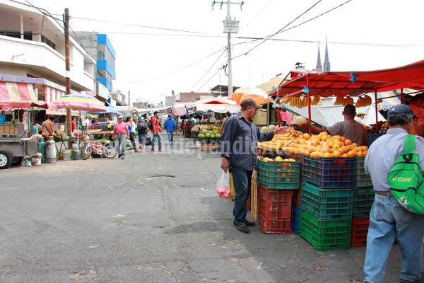 Darán paso a proyecto de ordenamiento en zona del Mercado Hidalgo