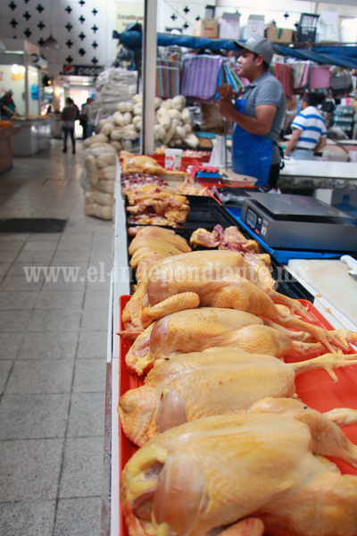 Aumentó 20 por ciento kilo de la carne de pollo