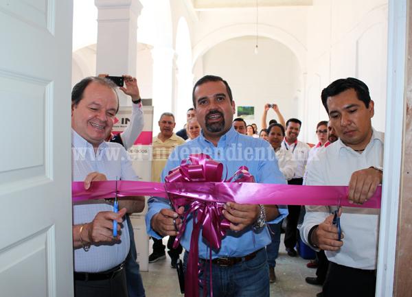 Inauguran oficinas del INE en Ixtlán