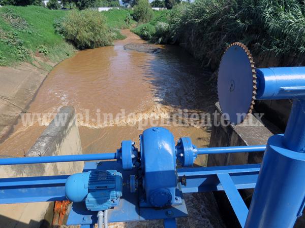 En espera de proyecto de entubamiento de la presa Verduzco