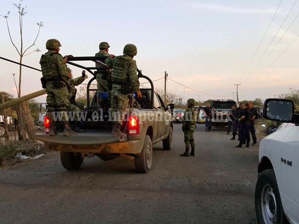 Civiles armados atacan a balazos a policías de Ixtlán y lesionan a uno