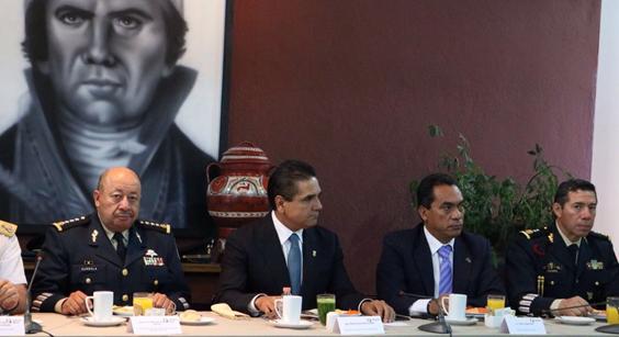 Acuerda Grupo de Coordinación Michoacán más acciones operativas para frenar delincuencia