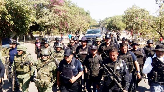 Refuerzan por aire y tierra operativos para disuadir hechos delictivos en Michoacán: SSP