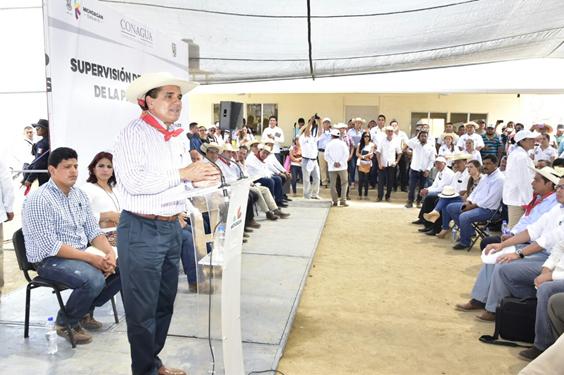 Presa El Chihuero, una realidad para el desarrollo de Tierra Caliente: Silvano Aureoles