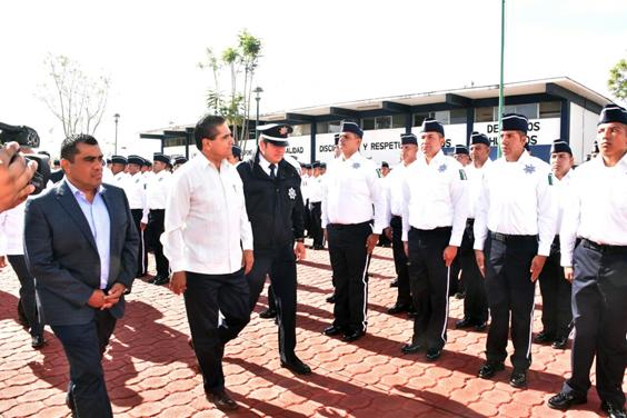 Inicia nueva etapa en conformación de la mejor policía del país, la Policía Michoacán: Gobernador