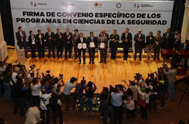 Inicia en Michoacán formación de profesionales en materia de seguridad: Silvano Aureoles