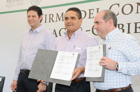 Silvano Aureoles y la Conagua impulsan acciones en materia hidroagrícola en Michoacán