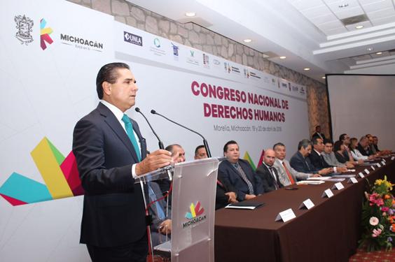 El Gobierno de Michoacán, comprometido con los Derechos Humanos: Silvano Aureoles