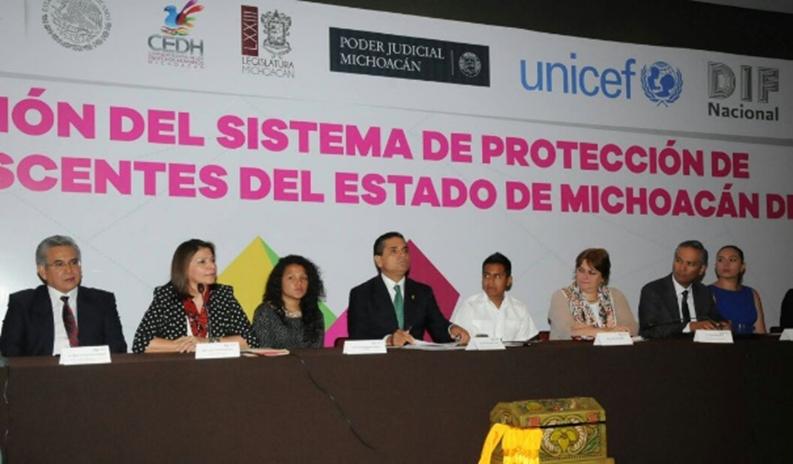 Instala Gobernador Sistema de Protección de Niños, Niñas y Adolescentes