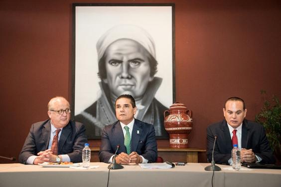 Comparten Gobernadores de Michoacán y Morelos experiencias en educación y seguridad