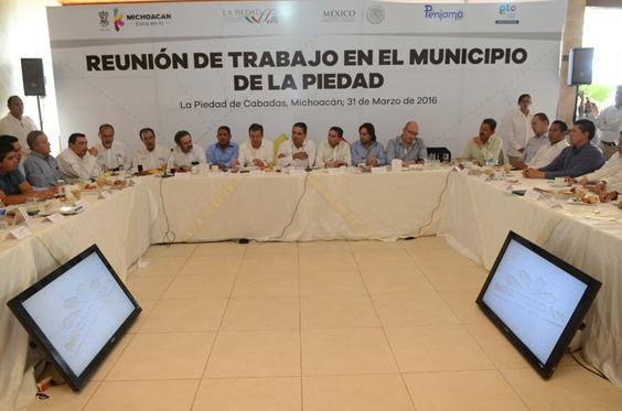 Genera Michoacán confianza a inversionistas: Silvano Aureoles