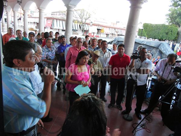 Se oponen a cierre de agencia del MP en Jiquilpan