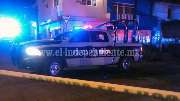 Joven es lesionado a balazos en la 20 de noviembre de Zamora