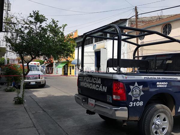 Un muerto y un herido tras ser atacados a balazos, en negocio de Zamora