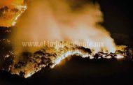 Crecieron incendios forestales en Michoacán, con respecto al año pasado