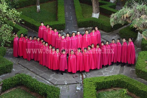 Niños Cantores de Morelia darán concierto próximo 31 de mayo en Teatro Obrero