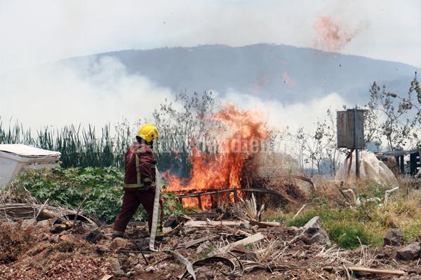 CONAFOR responsabiliza a ejidatarios de los incendios forestales