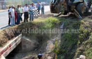 Arrancó construcción de línea general de drenaje sanitario en Joyas del Pedregal