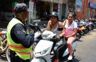 Que ahora sí pondrán en cintura a motociclistas con más de 2 pasajeros por unidad