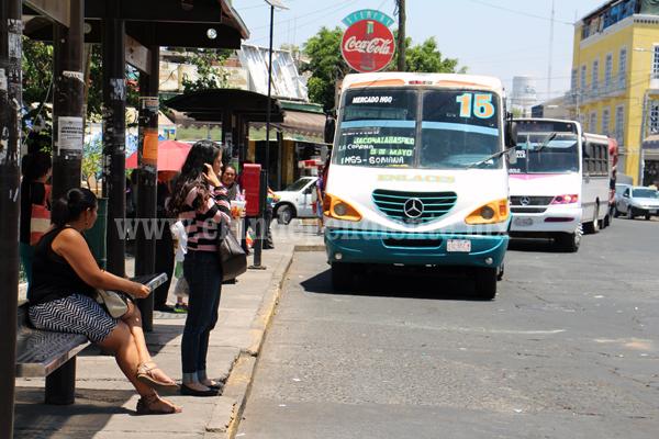 Transportistas descartan incremento en tarifa de transporte por este año