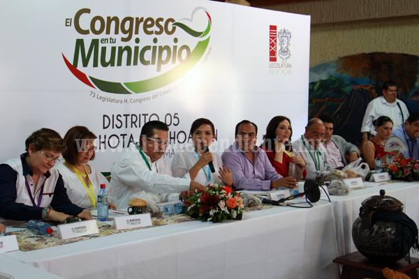 Acercan a delegados federales, estatales y municipales a los ciudadanos