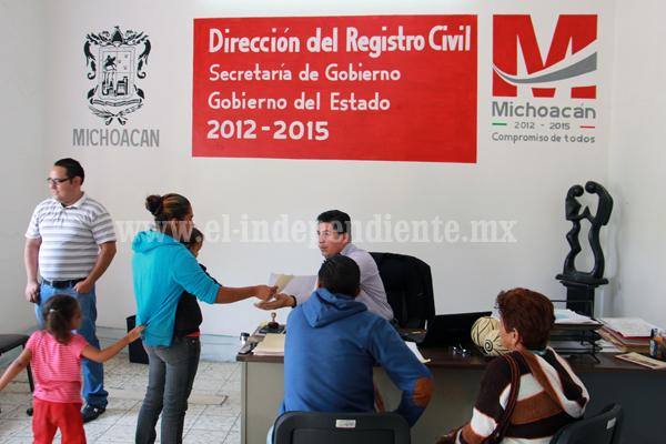 Realizarán campaña gratuita de matrimonios y registros extemporáneos