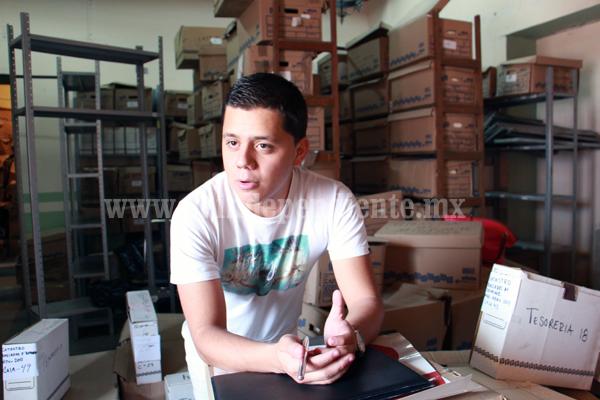 Incorporaran una videoteca al archivo municipal de Jacona