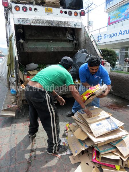 Requieren inversión de 14 mdp para regular servicio recolector de basura