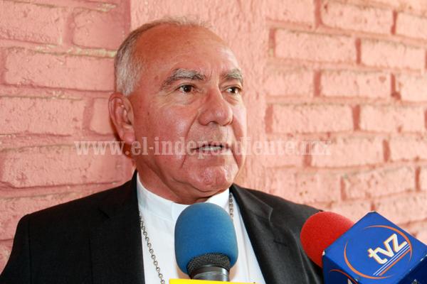Obispo anunció proyecto millonario para Santuario de Guadalupe