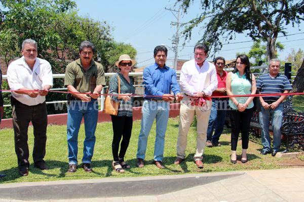 Rehabilitaron margen del Rio Celio y asfalto en calle Ignacio Ramírez