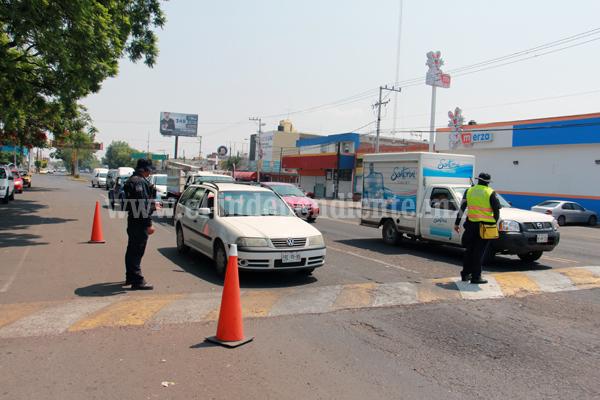 Disminuyó 30 por ciento accidentes viales con operativos vía alcoholímetro
