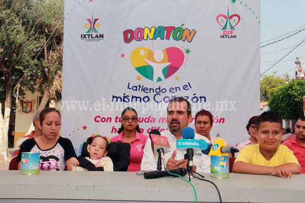 En Ixtlán buscan solidaridad para el Donatón 2016