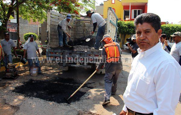 Alcalde de Jacona solicitará permiso ante SCT para arreglar el libramiento