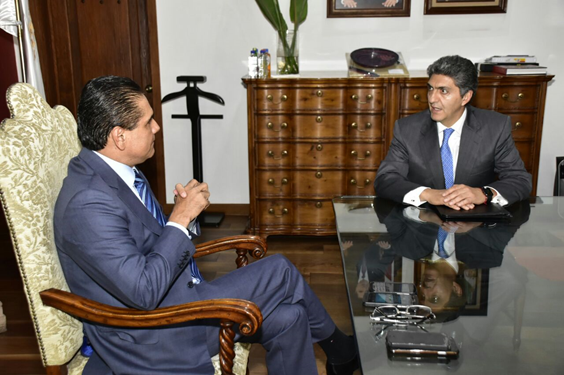 Se reúne Gobernador con el Procurador Federal del Consumidor