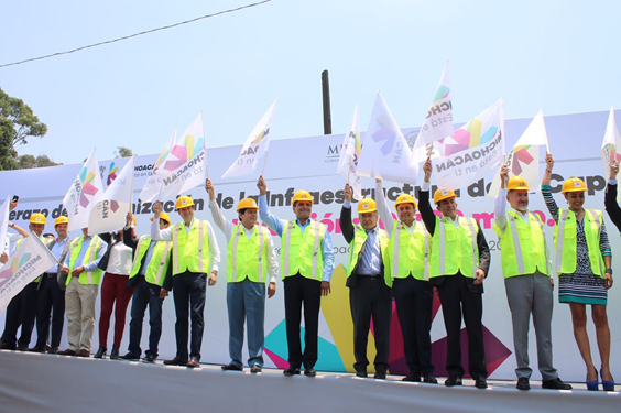 Anuncia Silvano Aureoles inversión histórica de 10 mil 800 mdp en infraestructura para Morelia