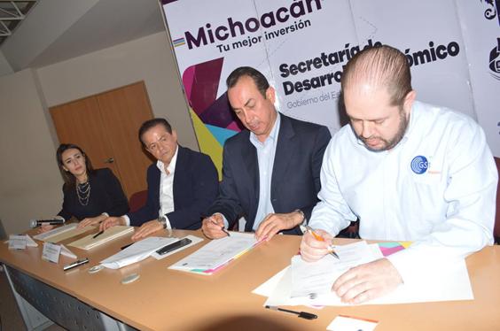 Signa Sedeco convenio en beneficio de empresas michoacanas
