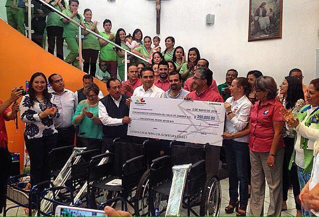 Gobernador comprometió su apoyo para etiquetar recursos al CRI Promotón