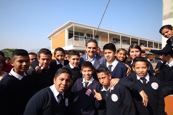 Mejorar infraestructura educativa para tener educación de calidad: Silvano Aureoles