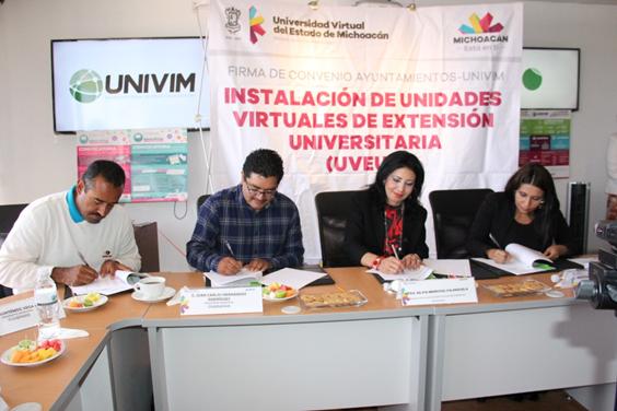 La Univim llega a 36 municipios michoacanos
