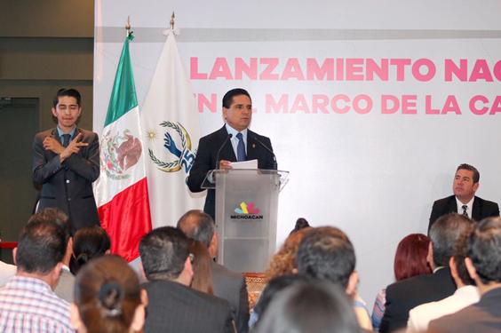 Michoacán, comprometido con la protección y cuidado de los Derechos Humanos: Silvano Aureoles