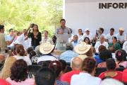 Se avanza en la reconstrucción del tejido social en Cenobio Moreno: Silvano Aureoles