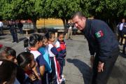 """Encabeza secretario de Seguridad Pública, actividades del programa """"Escuelas Comprometidas por Nuestra Seguridad"""""""