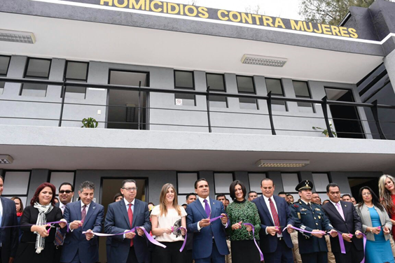 Inaugura Silvano Aureoles Unidad Especial para Atención de Delitos de Homicidios contra la Mujer