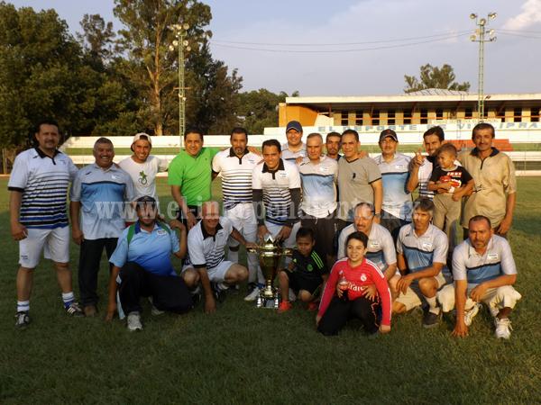 Inter Olimpia es Campeón del Torneo de Copa Categoría Master I
