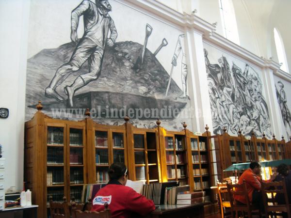Reabrirán biblioteca pública